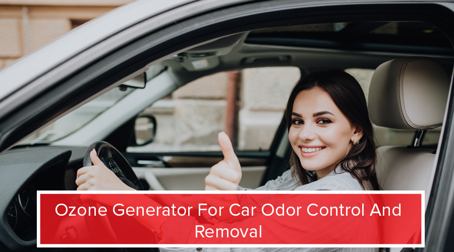 Ozone Generator For Car Odor Control And Removal