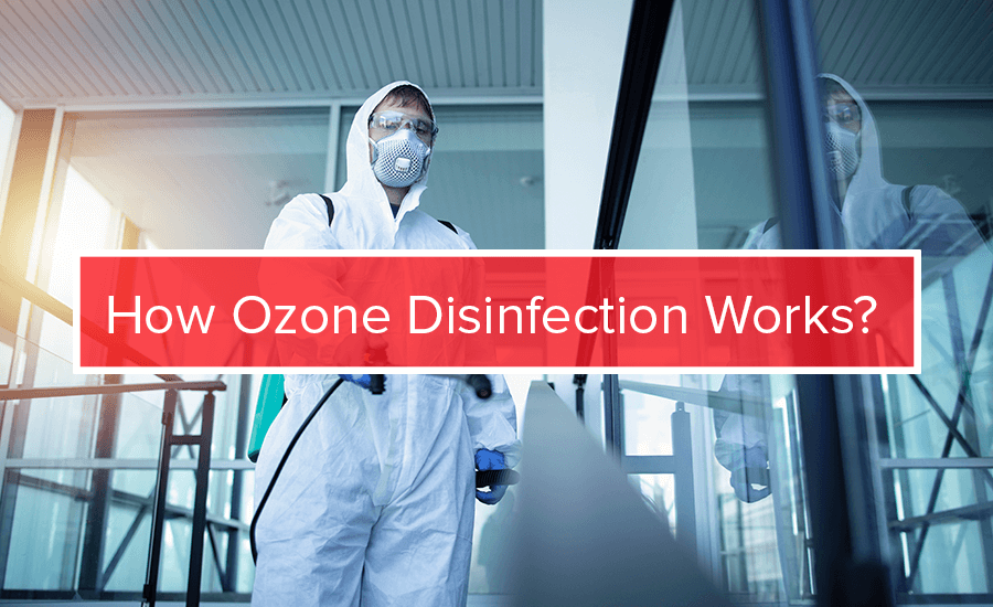 how does ozone disinfection works
