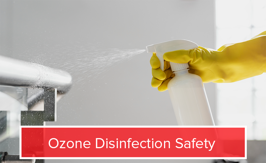 ozone disinfection safety
